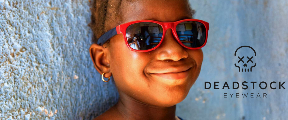 Vision Aid Overseas partners with Deadstock Eyewear