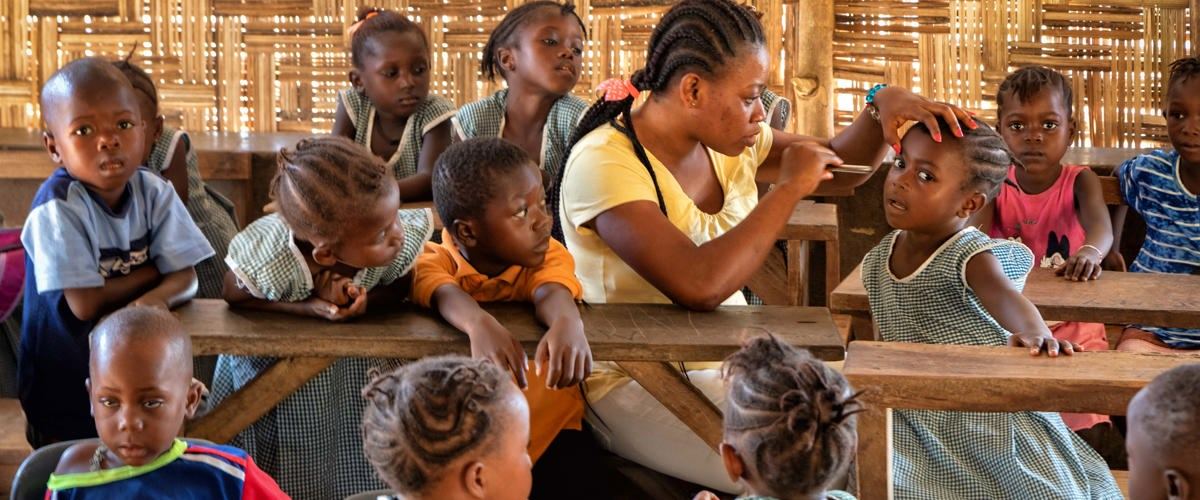 School Eye Health starts again in Sierra Leone