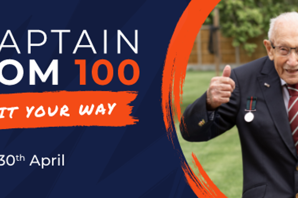 Vision Aid Overseas joins the Captain Tom 100 challenge